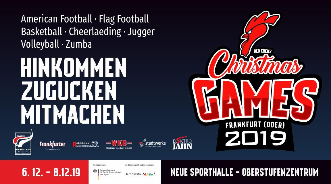 HoHoHo…… Christmas Games in Frankfurt